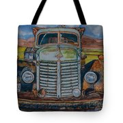 1940 International Harvester Truck Tote Bag