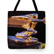 1940 Packard Hood Ornament Tote Bag