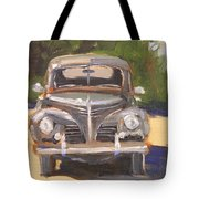 1940 Plymouth Tote Bag