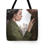 1940s Lovers Tote Bag