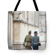 1940s Wartime Couple Tote Bag