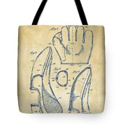 1941 Baseball Glove Patent - Vintage Tote Bag by Nikki Marie Smith