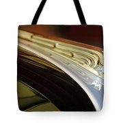 1941 Buick Eight Hood Ornament Tote Bag by Jill Reger