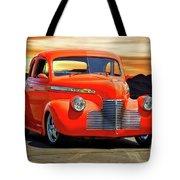 1941 Chevrolet Coupe 'reno Sunrise' Tote Bag