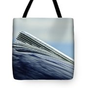 1941 Chevrolet Hood Ornament 2 Tote Bag