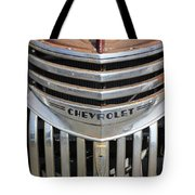 1941 Chevy - Chevrolet Pickup Grille Tote Bag