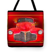 1941 Chevy Custom Tote Bag