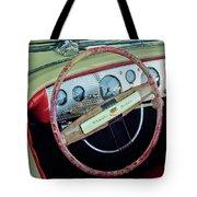 1941 Chrysler Newport Dual Cowl Phaeton Steering Wheel Tote Bag