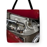 1941 Indian 4 Cyl Motorcycle Tote Bag