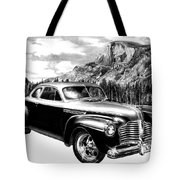 1941 Roadmaster - Half Dome Tote Bag