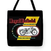 1941 Royal Enfield Motorcycle Ad Tote Bag