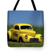 1941 Willys Coupe Dragster Tote Bag