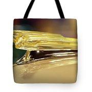 1942 Chevrolet Fleetline Hood Ornament Tote Bag