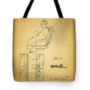 1943 Barber Apron Patent Tote Bag
