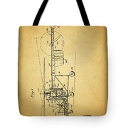 1943 Helicopter Patent Tote Bag