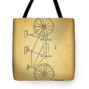 1945 Schwinn Tandem Bicycle Tote Bag