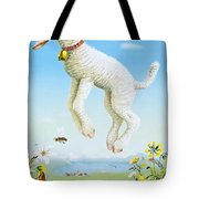 1945 Spring In Switzerland Travel Poster Tote Bag