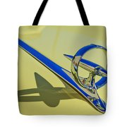 1946 Buick Convertible Hood Ornament 2 Tote Bag