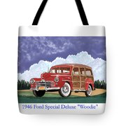 1946 Ford Woody Tote Bag
