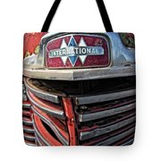 1946 International Harvester Truck Grill Tote Bag by Daniel Hagerman
