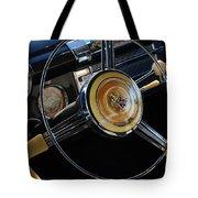 1947 Buick Eight Super Steering Wheel Tote Bag