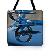 1947 Buick Roadmaster Hood Ornament Tote Bag