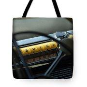 1947 Buick Super Radio Tote Bag