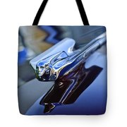 1947 Cadillac 62 Convertible Hood Ornament Tote Bag