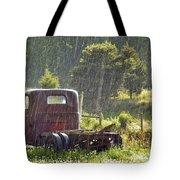 1947 Dodge Pickup Rain And Sun Tote Bag