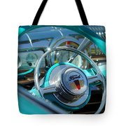 1947 Ford Deluxe Convertible Steering Wheel Tote Bag