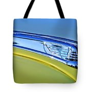 1947 Ford Super Deluxe Hood Ornament 2 Tote Bag