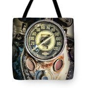 1947 Knucklehead Speedometer Tote Bag