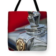 1947 Mg Tc Non-standard Hood Ornament Tote Bag
