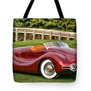 1948 Buick Streamliner Tote Bag