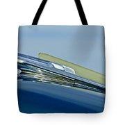 1948 Chevrolet Fleetline Hood Ornament Tote Bag