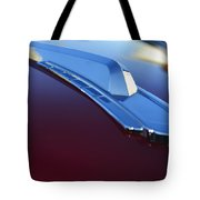1948 Chevrolet Pickup Hood Ornament Tote Bag