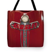 1948 Crosley Convertible Emblem Tote Bag
