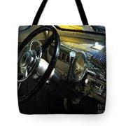 1948 Ford Super Deluxe Dash Tote Bag