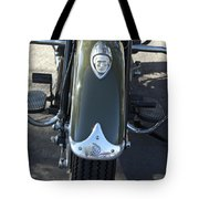 1948 Indian Chief Motorcycle Hood Ornament Tote Bag
