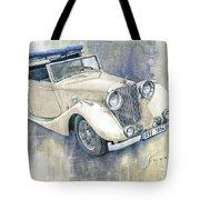 1948 Jaguar Mark Iv Dhc Tote Bag