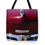 1948 Lincoln Continental Hood Ornament 3 Tote Bag