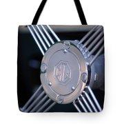 1948 Mg Tc Steering Wheel 2 Tote Bag
