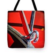 1948 Packard Hood Ornament 2 Tote Bag by Jill Reger