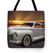 1948 Plymouth Two Door Coupe Tote Bag