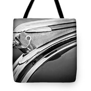 1948 Pontiac Chief Hood Ornament 2 Tote Bag by Jill Reger