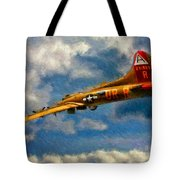 1949 Boeing B-17b Flying Fortress Tote Bag