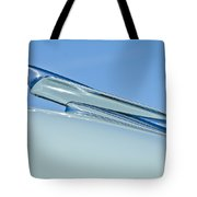 1949 Cadillac Fastback Hood Ornament Tote Bag