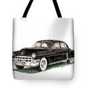 1949 Cadillac Fleetwood Sedan Tote Bag