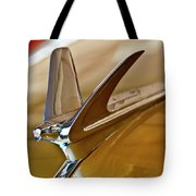 1949 Chevrolet Fleetline Hood Ornament Tote Bag