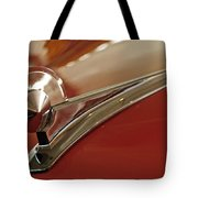 1949 Ford Custom Hood Ornament Tote Bag